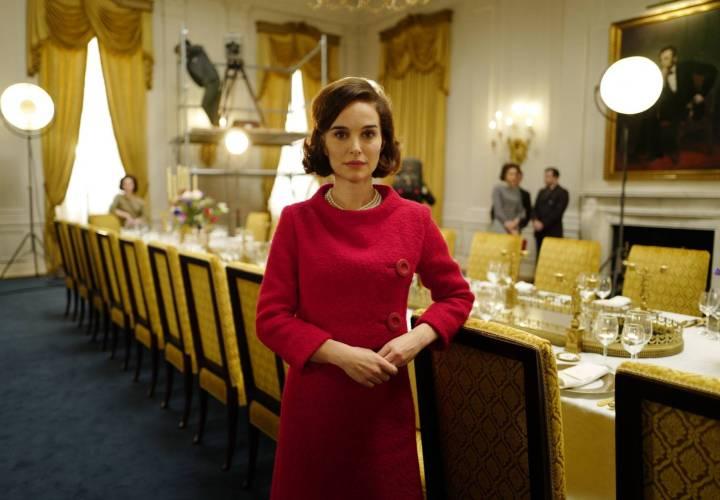 Natalie Portman, como Jacqueline Kennedy Onassis, em 'Jackie'