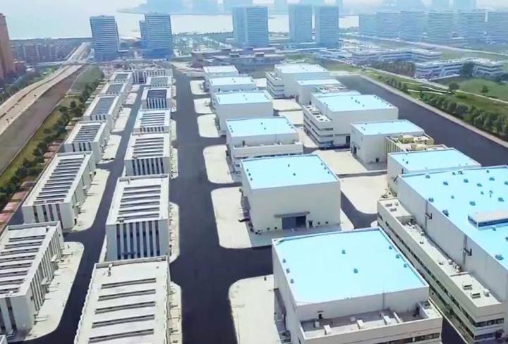 Projeto do complexos de estúdios que está construído pela Wanda em Qingdao, na China (Foto - Reprodução-Facebook-Wanda Studios)